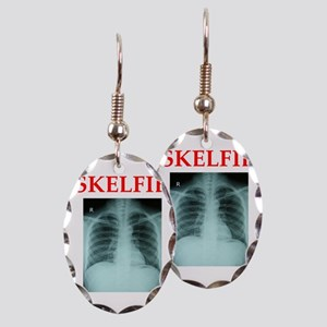 RADIOLOGY JOKE Earring Oval Charm