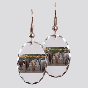 Big Butts Earring Oval Charm