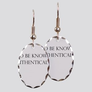To be known authentically Earring