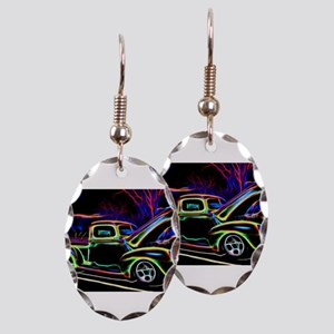 1940 Ford Pick up Truck Neon Earring