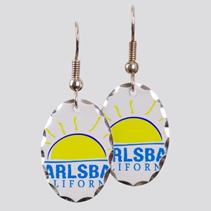 Summer carlsbad state- californ Earring Oval Charm