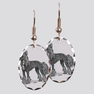 Chinese Crested Earring