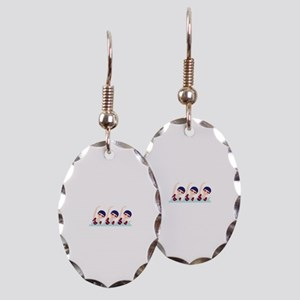 Synchronized Swimming Girls Earring
