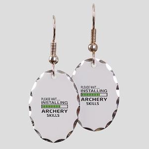 Please wait, Installing Archery Earring Oval Charm