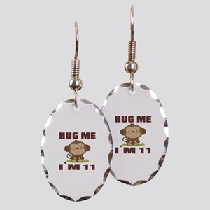 Hug Me I Am 11 Earring Oval Charm