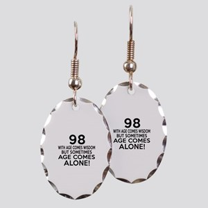 98 Awesome Birthday Designs Earring Oval Charm