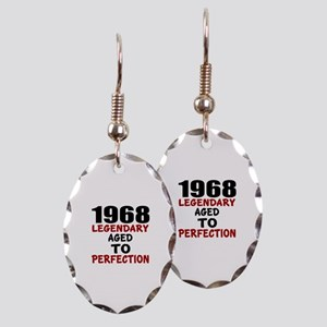1968 Legendary Aged To Perfecti Earring Oval Charm