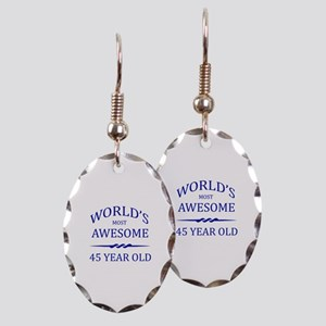 World's Most Awesome 50 Year Old Earring Oval Char