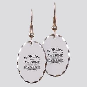 World's Most Awesome 80 Year Old Earring Oval Char