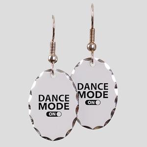 Dance Mode On Earring Oval Charm