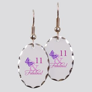 Fabulous 11th Birthday For Girls Earring Oval Char