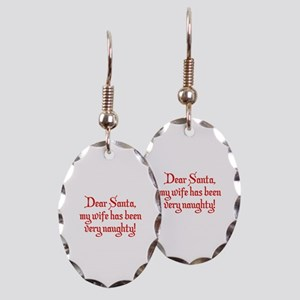 Dear Santa, My Wife Has Been Very Naughty! Earring