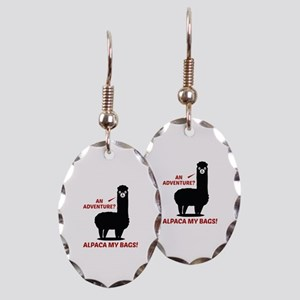 Alpaca My Bags Earring Oval Charm
