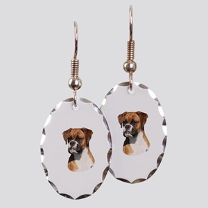 Boxer 9Y554D-123 Earring Oval Charm