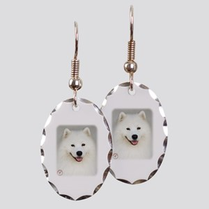 Samoyed 9Y566D-019 Earring Oval Charm