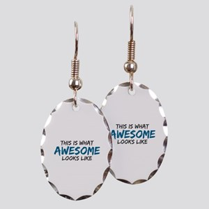 Awesome Looks Like Earring Oval Charm