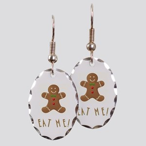 EAT ME! Earring Oval Charm