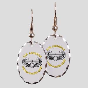 Emblem - Air Assault Earring Oval Charm