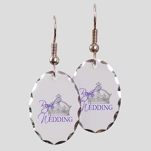 Royal Wedding London England Earring Oval Charm