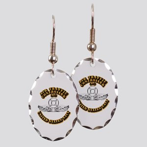 Navy - Rate - AC Earring Oval Charm