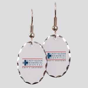 Grey Sloan Memorial Hospital Earring Oval Charm