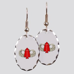 1st Special Service Force - Win Earring Oval Charm