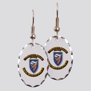 7th Armored Brigade Earring Oval Charm