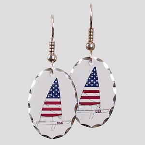 American Dinghy Sailing Earring