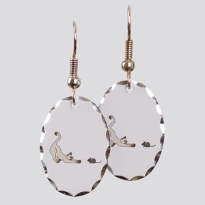 Cat and Mouse Earring