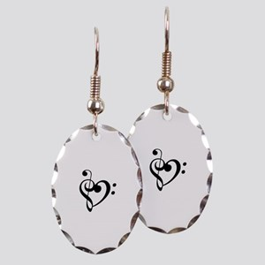 Treble Heart Earring