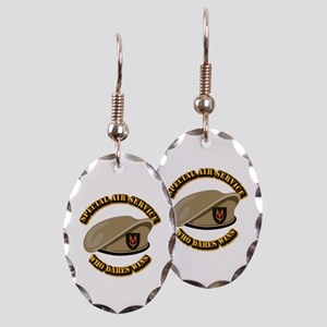 Special Air Service - UKSF Earring Oval Charm