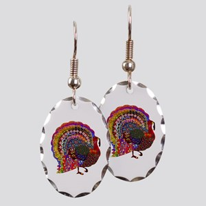 Dazzling Artistic Thanksgiving Earring Oval Charm