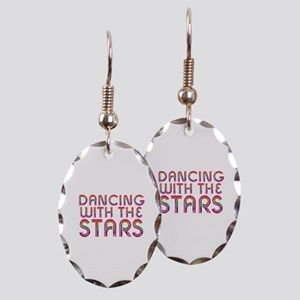 Dancing with the Stars Earring Oval Charm