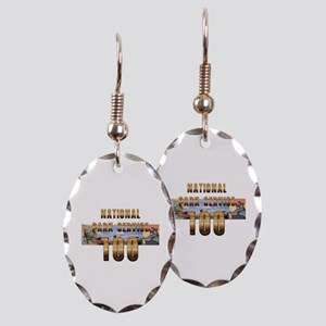 ABH NPS 100th Anniversary Earring Oval Charm