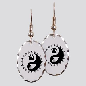 Universal Animal Rights Earring Oval Charm