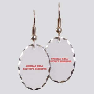Special Hell Activity Director Earring Oval Charm