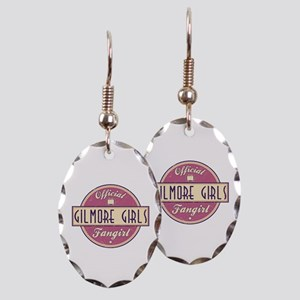 Official Gilmore Girls Fangirl Earring Oval Charm