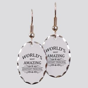 World's Most Amazing Assistant Earring Oval Charm