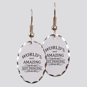 World's Most Amazing Asst. Prin Earring Oval Charm