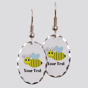 Personalizable Honey Bee Earring