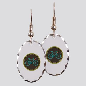 Bicycle Circle Earring