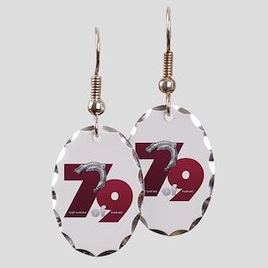 Seven of Nine Earring Oval Charm