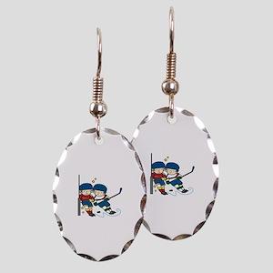 Hockey Boys Earring
