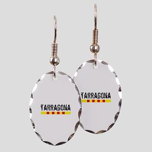 Catalunya: Tarragona Earring Oval Charm