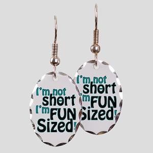 Not Short, Fun Sized Earring Oval Charm