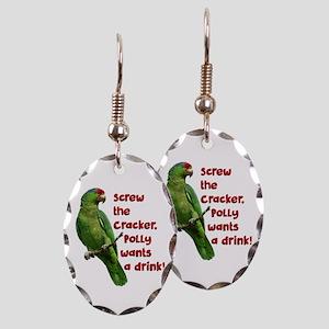 Smart Parrot Earring