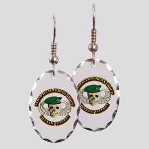 5th SFG - WIngs - Skill Earring Oval Charm