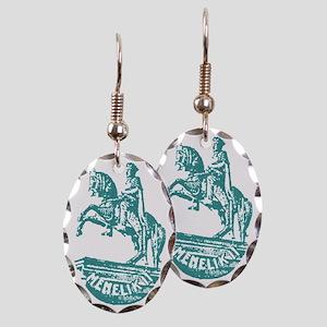 minilik Earring Oval Charm