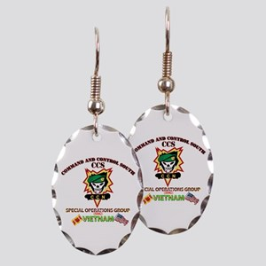 SOG - Command and Control South (CCS) Earring Oval