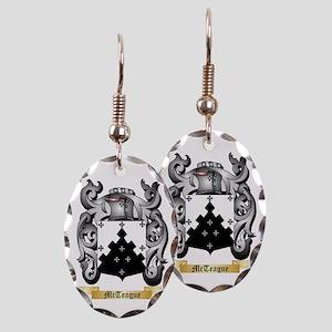 McTeague Earring Oval Charm